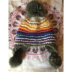 Free People knit hat.